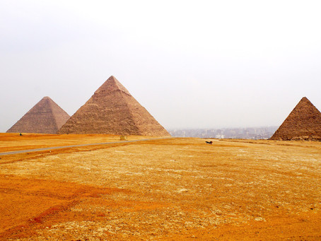 The Pyramids of Giza and Saqqara