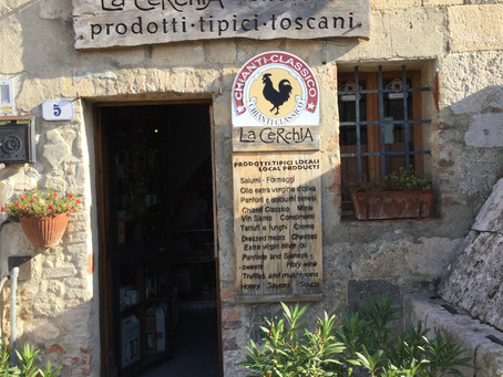 Tuscany:  The Tale of the Black Rooster