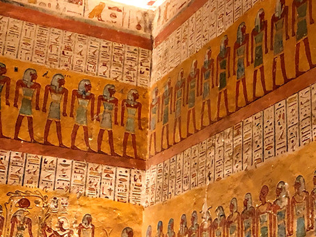 Valley of the Kings and the Magnificent Tombs of the Pharaohs