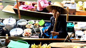 The Bangkok Train Market and Floating Market