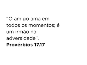 Provérbios 17.17