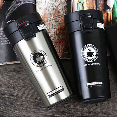Travel Coffee thermo Mug Stainless Steel