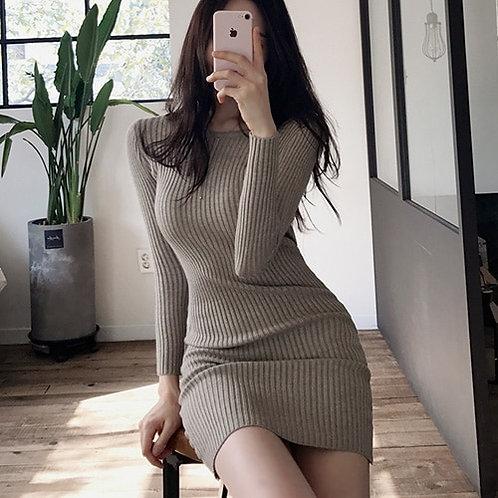 Knitted elegant Dress