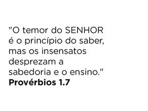 Provérbios 1.7