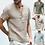 Thumbnail: Heren zomer licht katoen blouse