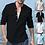 Thumbnail: Casual zomer heren katoenen blouse