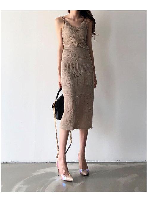 Elegant Knitted Set