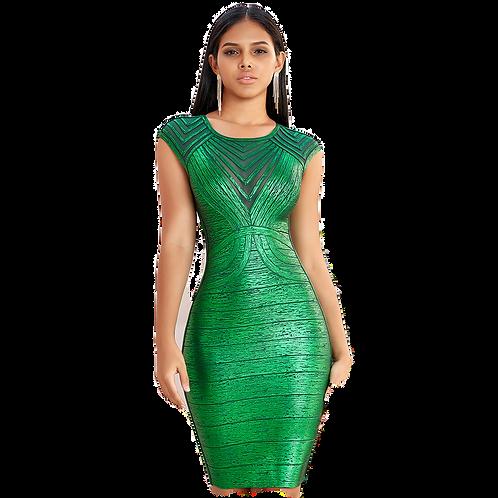 Summer Green  Club dress
