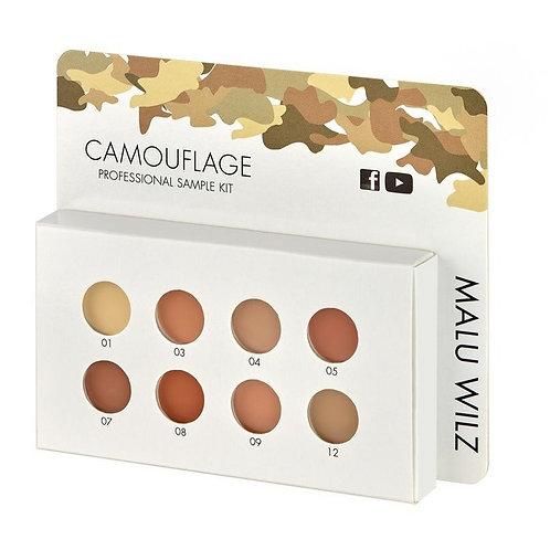 Malu wilz camouflage compleet professional kit