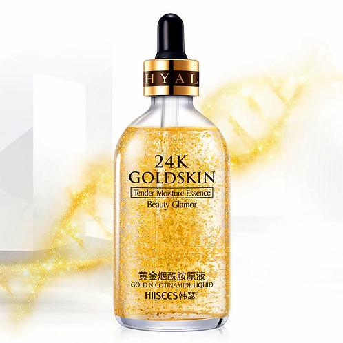 24 K Gold pore minimizer, anti wrinkle oil control control serum & Primer