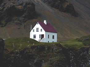 Casa construída sobre a rocha