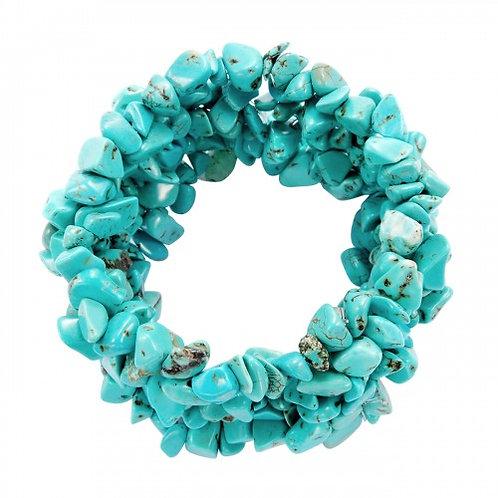 azuur elastic armband