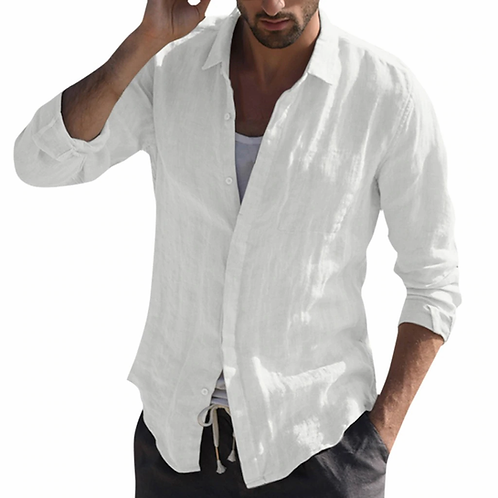 Men's Ibiza style vintage shirt