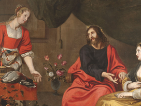 Entre Marta e Maria...o equilíbrio