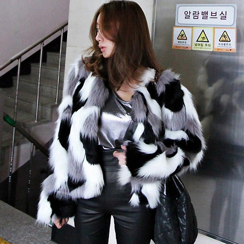 Autumn Winter Imitation Fur short