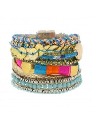 ibiza style handmade armband