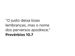 Provérbios 10.7