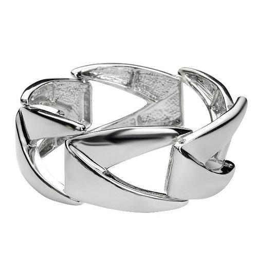 Silver armband