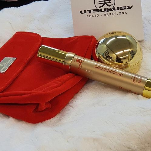 Utsukusy Kerstkit Creme met gratis serum & toilet tas