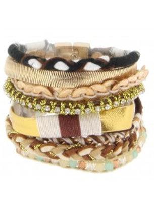 ibiza style armband chocolate