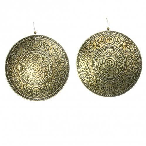 Gong golden earings