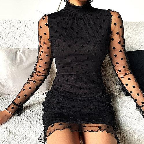 Lace  Elegant Mini Dress
