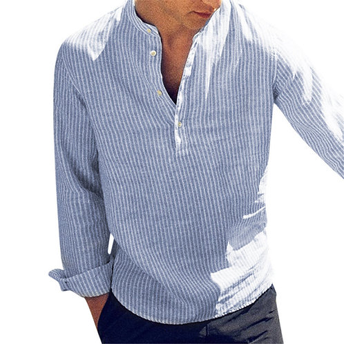 Stripes elegant mannen shirt