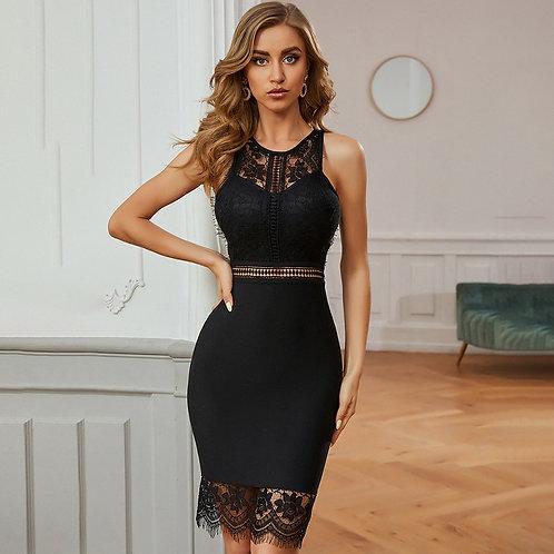 Lace Hollow Dress