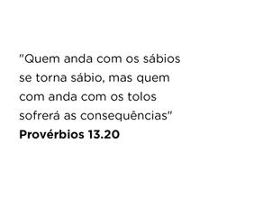 Provérbios 13.20