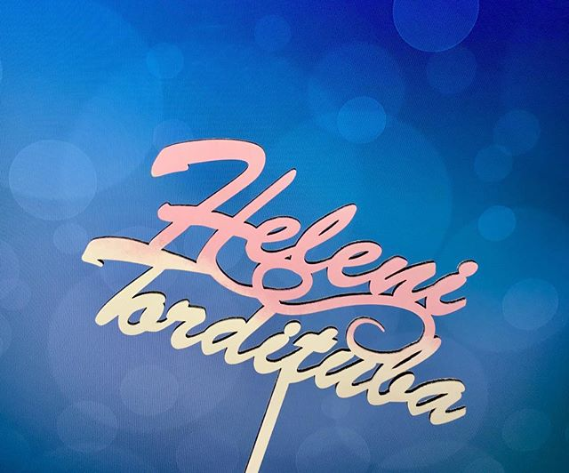 Helenile Viljandisse💙📦 _helenjonov 😘 #estwoodyart #helenitordituba #torditopper #tehtudEestis #ha