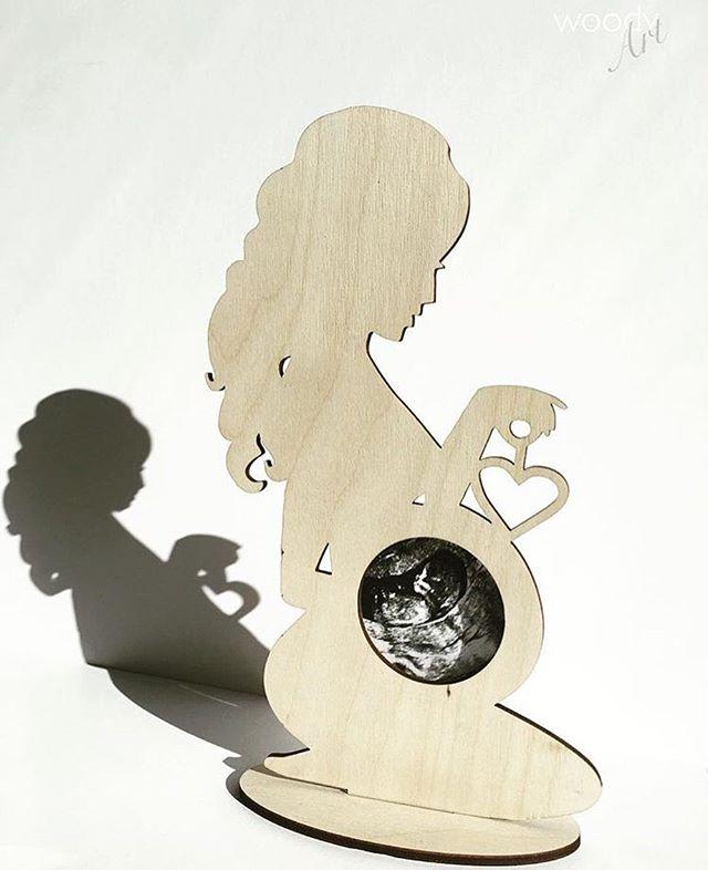 First picture frame🤰22€ #estwoodyart ручнаяработа #узи #инстамама #mother #ultraheli #käsitöö #teht