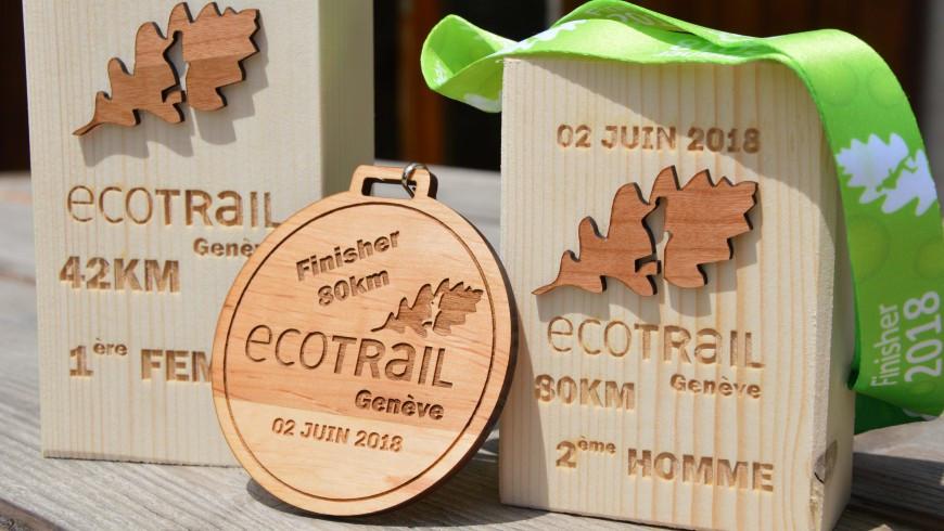 Erikujulised medalid puidust
