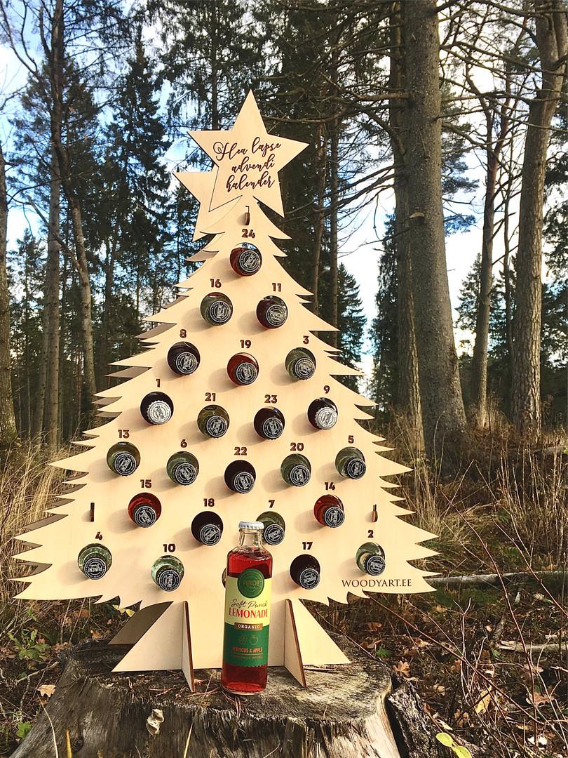 Jõulukalender pudelitele