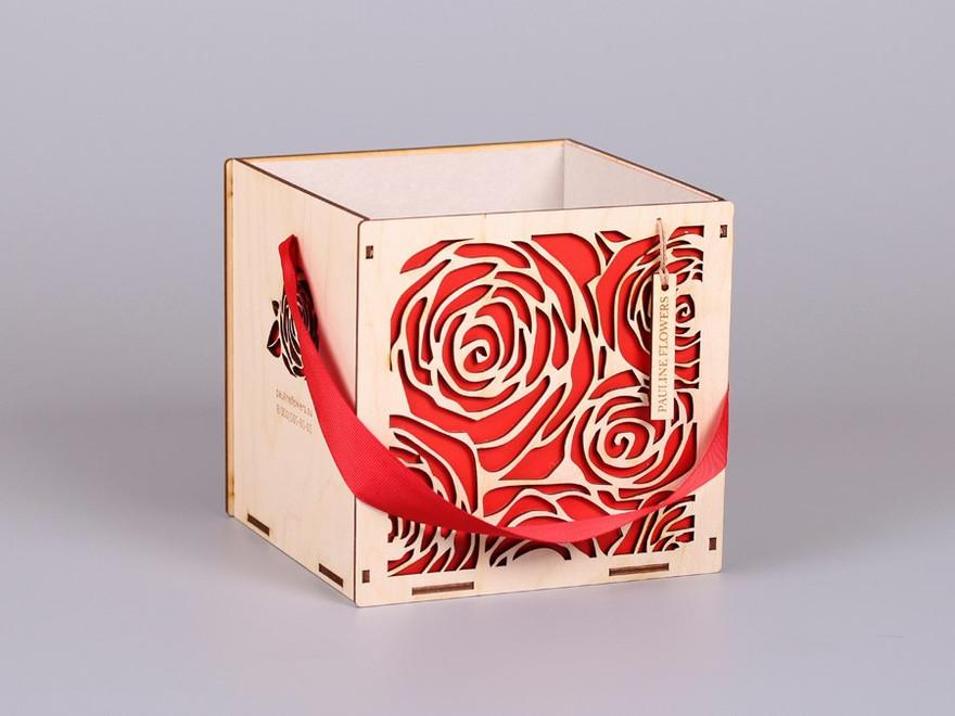 Lillede boks