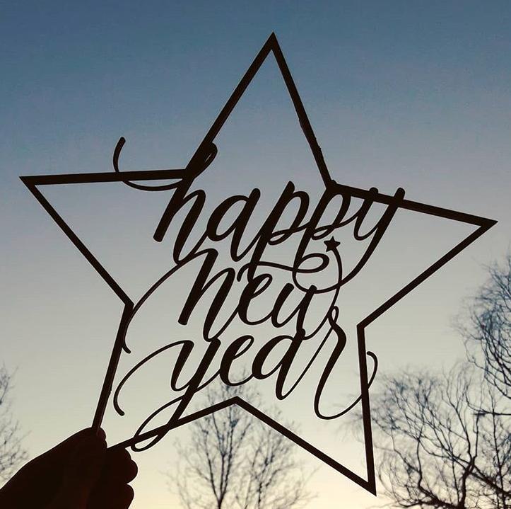 Happy New Year kaunistus