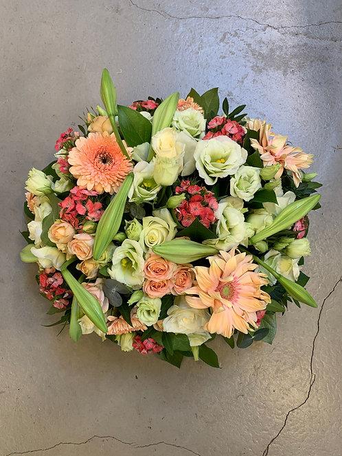 Rouwstuk bloemrijk