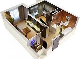 Ремонт однокомнатных квартир