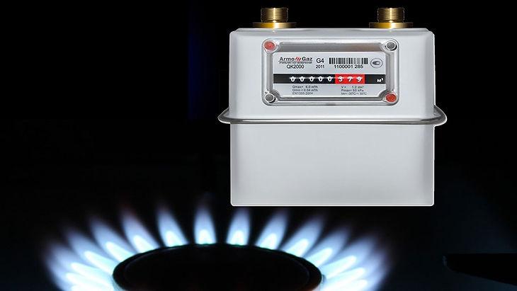 Установка газового счетчика СПб
