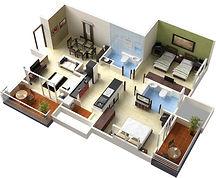 Цены на ремонт двухкомнатной квартиры