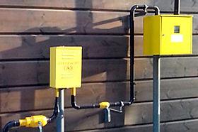 Прокладка газовых труб