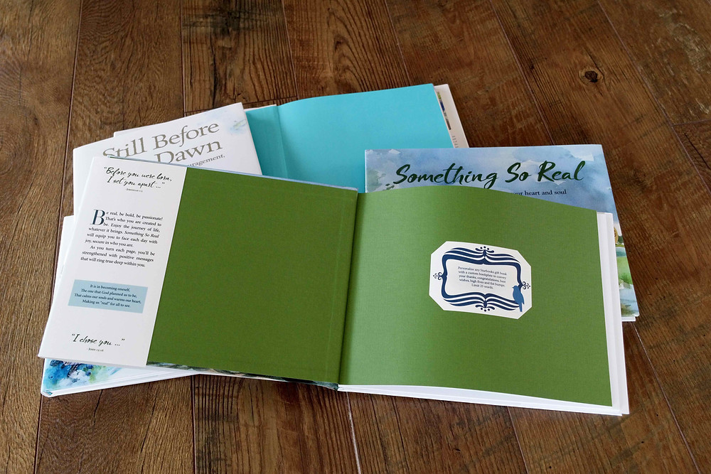 Add a personalized bookplate to your gift book with your own message