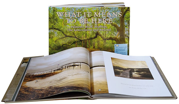 What it means to be here book by Author Photographer Marge Agin