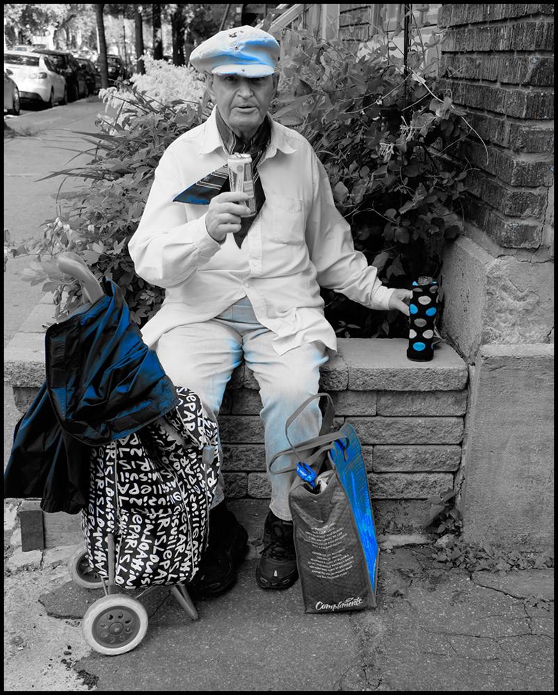 Homme-en-bleu