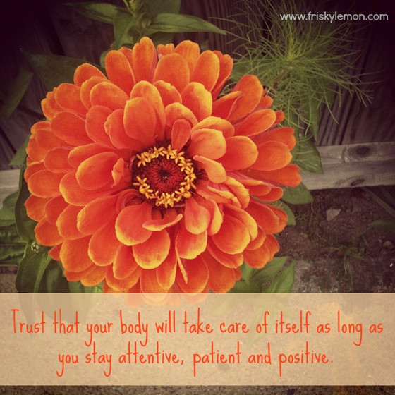 Trusting Your Body During Times of Chronic Illness