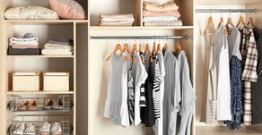 9 Steps to Purging Your Wardrobe