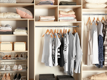 Let's Get Our Closet's Organized!