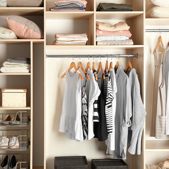 Well Organized Closets