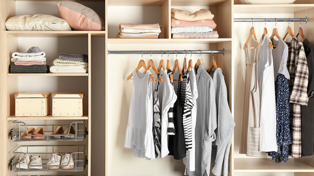 De-clutter & organize