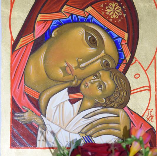 Icône de la Vierge Marie de la tendresse