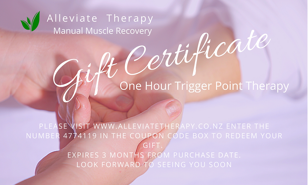One Hour Trigger Point Therapy